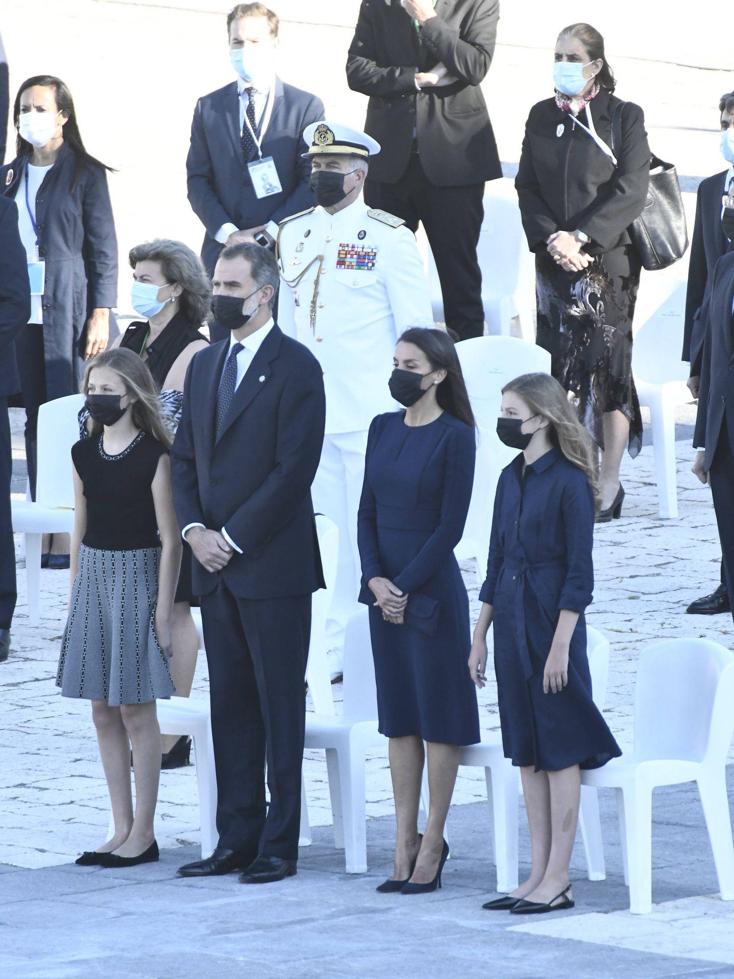 Los Reyes y sus hijas, en el homenaje. (Limited Pictures)