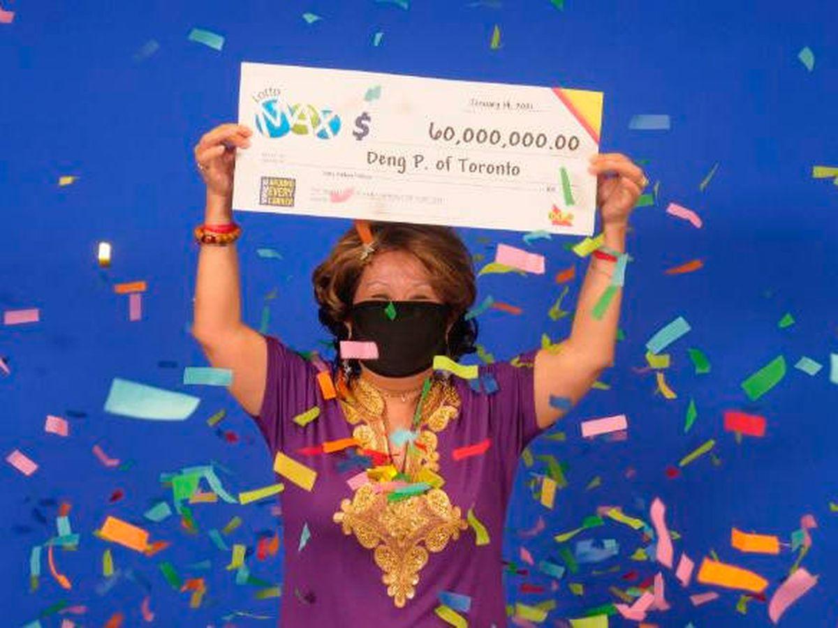 Foto: Deng Pravatoudom apostó siempre por el sueño de su marido (Ontario Lottery)