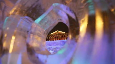 Abren al público el laberinto de hielo más grande de Estados Unidos