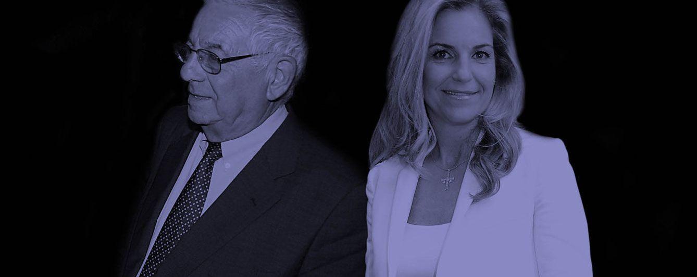 Foto: Arantxa Sánchez Vicario junto a su padre, Emilio Sánchez, en un fotomontaje de Vanitatis