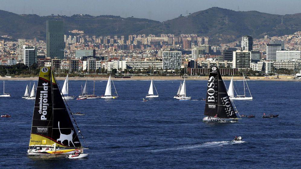 Foto: Imagen de la Barcelona World Race. (EFE)