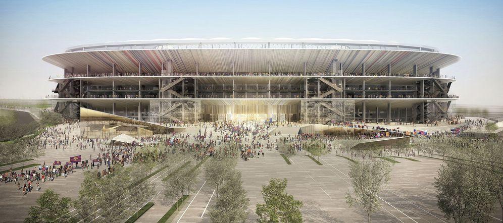 Foto: El estudio japonés Nikken Sekkei reformará el Camp Nou. (FOTO: F.C. Barcelona)