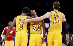 Pau recuerda el sabor de la victoria a los Lakers en la noche de Durant