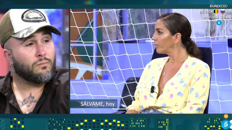Kiko Rivera hablando de Anabel Pantoja. (Telecinco).
