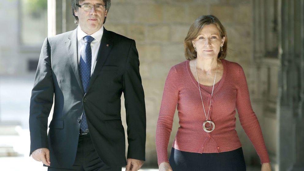 El TC abre la vía para sancionar a Forcadell por la secesión catalana