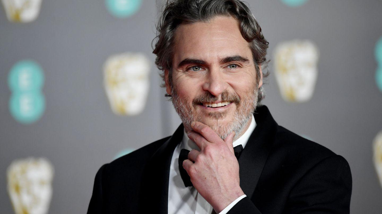 Joaquin Phoenix en los premios Bafta. (EFE)