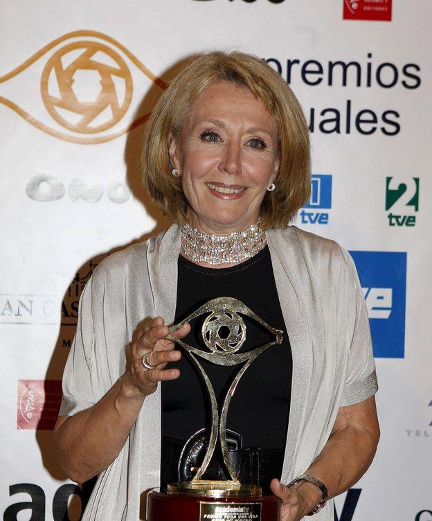 Foto: La periodista y presentadora Rosa María Mateo en 2008. (EFE)