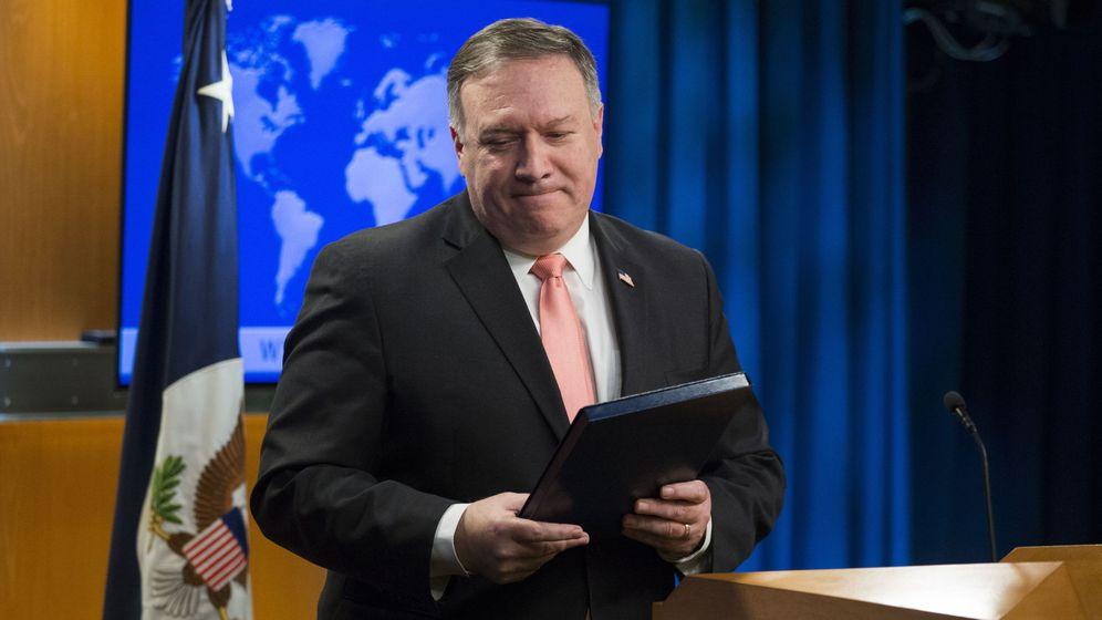 Foto: Mike Pompeo, secretario de Estado de EEUU. (EFE)