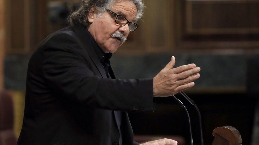 Foto: El portavoz de ERC en el Congreso, Joan Tardà. (EFE)