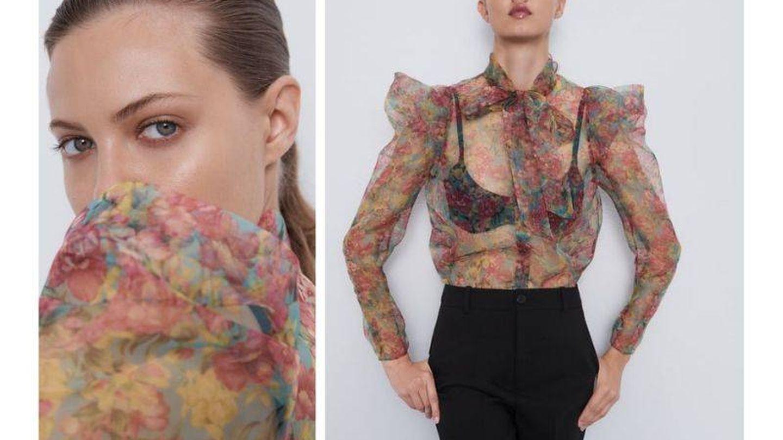 Elegante, sensual y fresca, la blusa ideal.  (Cortesía)