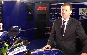 El director de Yamaha revela los secretos del box: Rossi siempre llega tarde