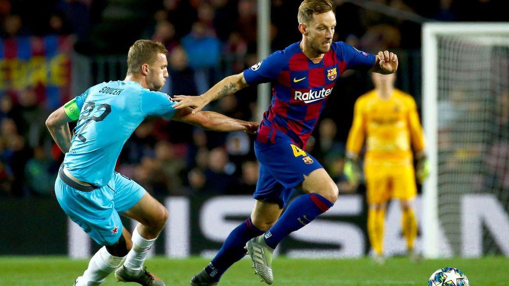 De jugador residual a titular: así ha cambiado Ivan Rakitic su situación en el Barcelona