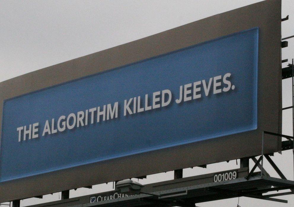 """Foto: """"El algoritmo mató a Jeeves"""". Foto de John Trainor en Flickr"""