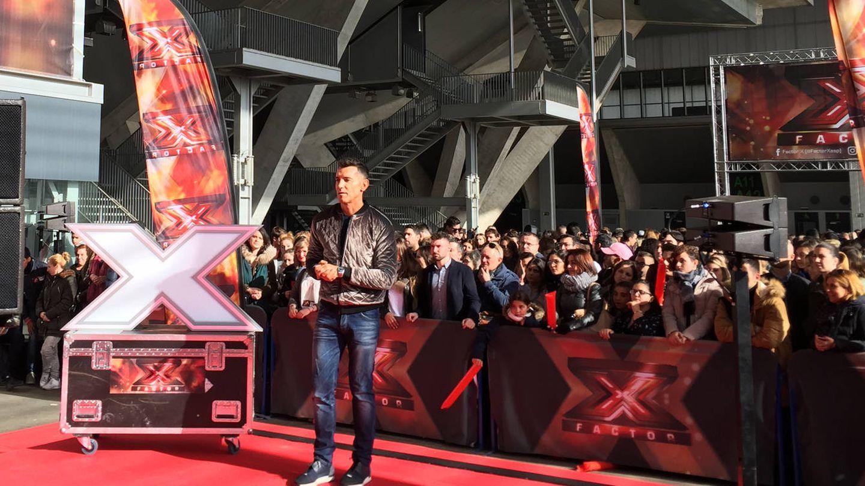 Jesús Vazquez presentador de la nueva edición de 'Factor X'. (El Confidencial)