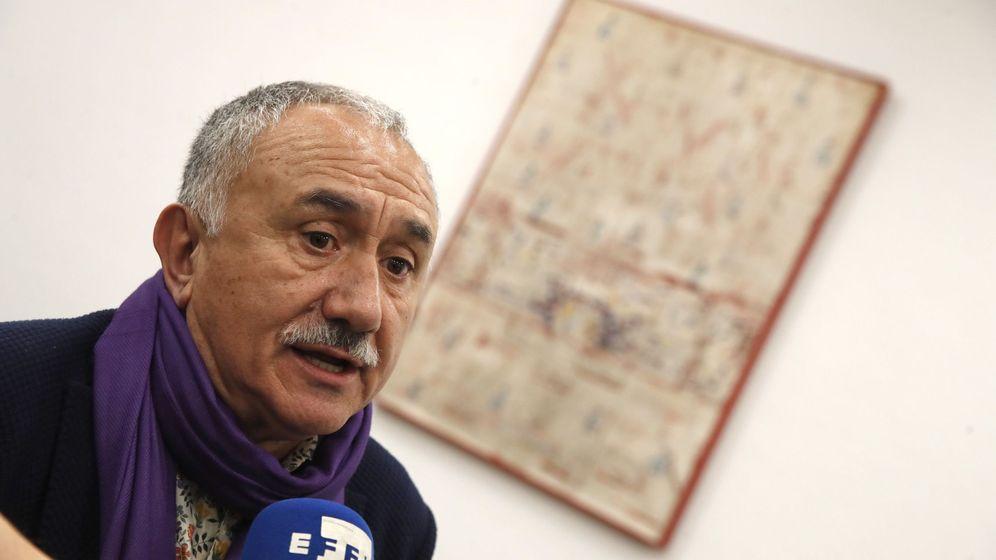 Foto: El secretario general de UGT, Pepe Álvarez. (EFE)