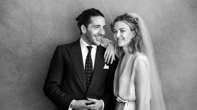 Carlos Torretta y Marta Ortega, el día de su boda. (Peter Lindbergh)