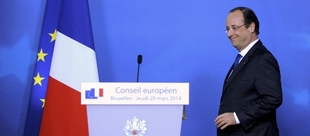 El presidente Hollande, durante una reciente rueda de prensa en Bruselas (Reuters).