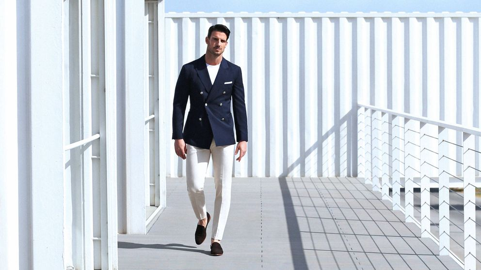 El pantalón blanco según ellos: guía práctica para llevarlo en verano