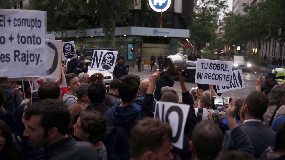 Podemos: manifestaciones para sacar a la calle la moción de censura contra Rajoy