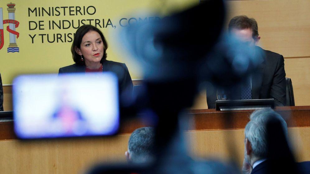 Foto: La ministra de Industria, Comercio y Turismo en funciones, Reyes Maroto. (EFE)