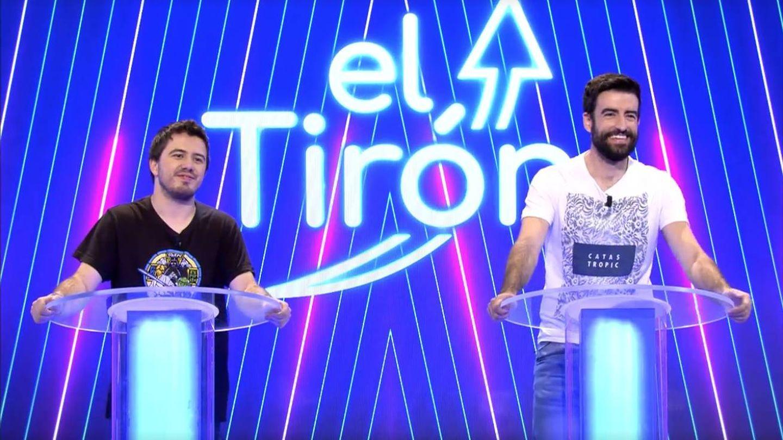 Orestes y rafa, concursantes de 'El tirón'. (Mediaset)