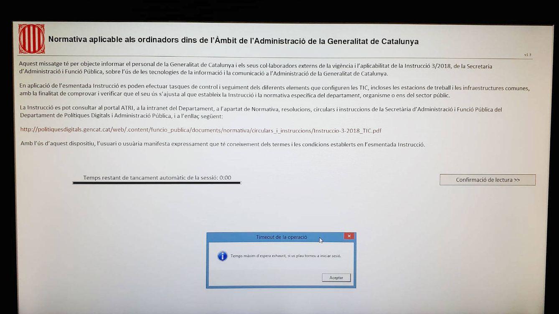 Los fiscales ven el acceso de la Generalitat a sus PCs un atentado a su independencia