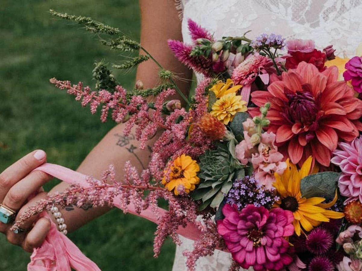 Foto: Las mejores ideas para diseñar tu ramo de novia. (Instagram @badrabbitflowers)