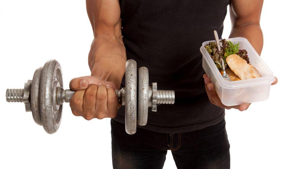 Foto: Dieta y músculo. (iStock)