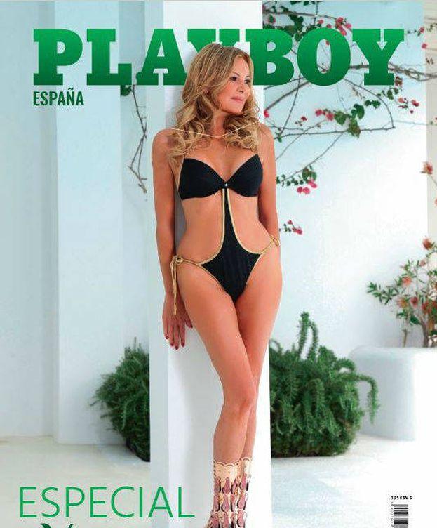 Foto: Ana Obregón en la portada de la revista 'Playboy'.