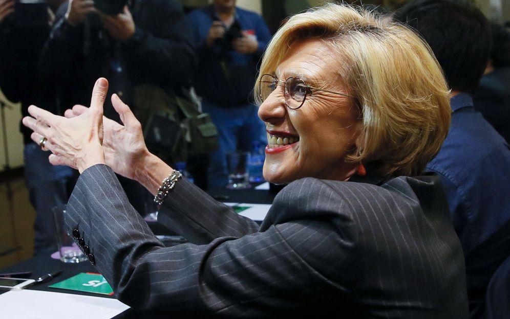 Foto: Rosa Díez, dirigente de UPyD, durante la reunión del Consejo Político (Efe)