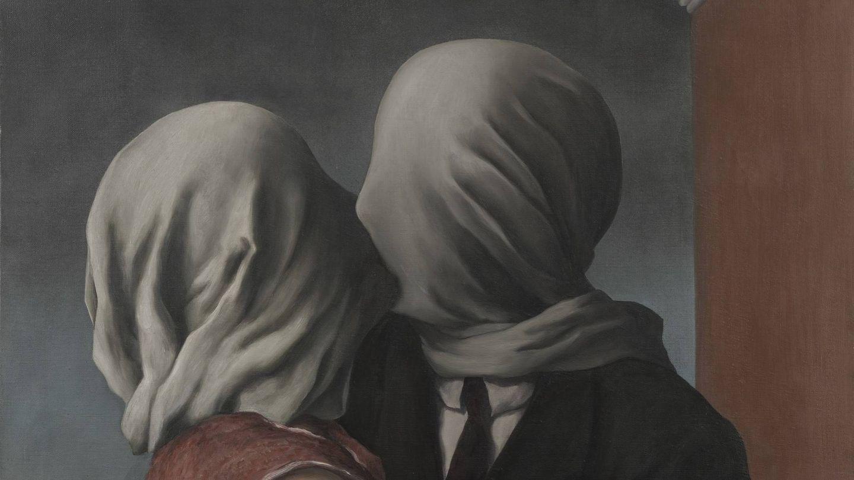 'Los amantes'. René Magritte. 1928. MoMA.