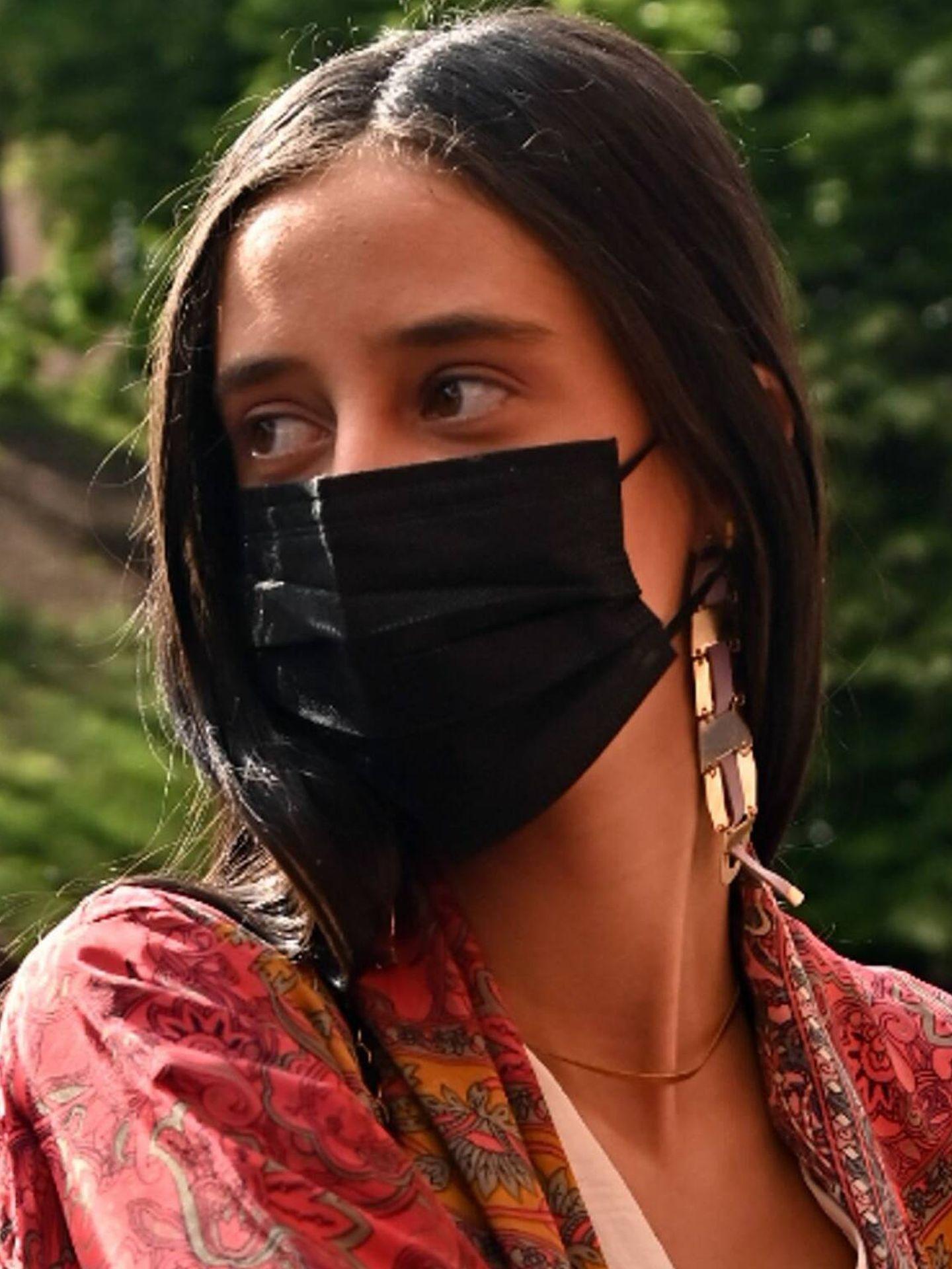 En mayo de este año, Victoria Federica de Marichalar ya comenzaba a dejarse ver con su maquillaje bronceado. (Cordon Press)