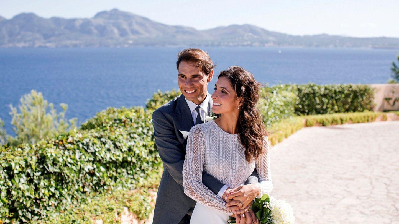 Rafa Nadal y Mery Perelló en su boda (EFE Fundación Rafa Nadal)