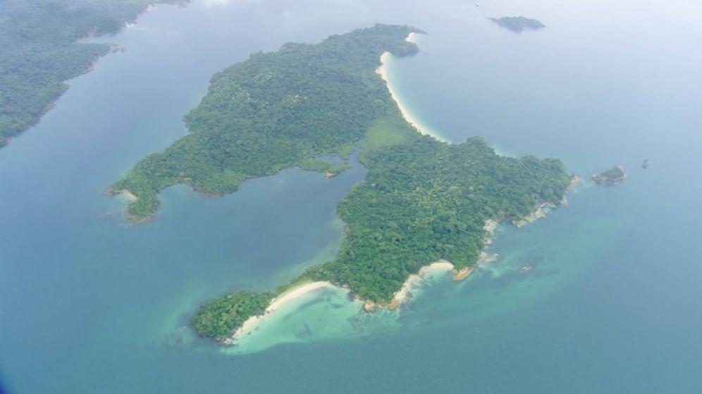 Foto: Imagen aérea de la isla donde se ha rodado el reality de La Sexta.