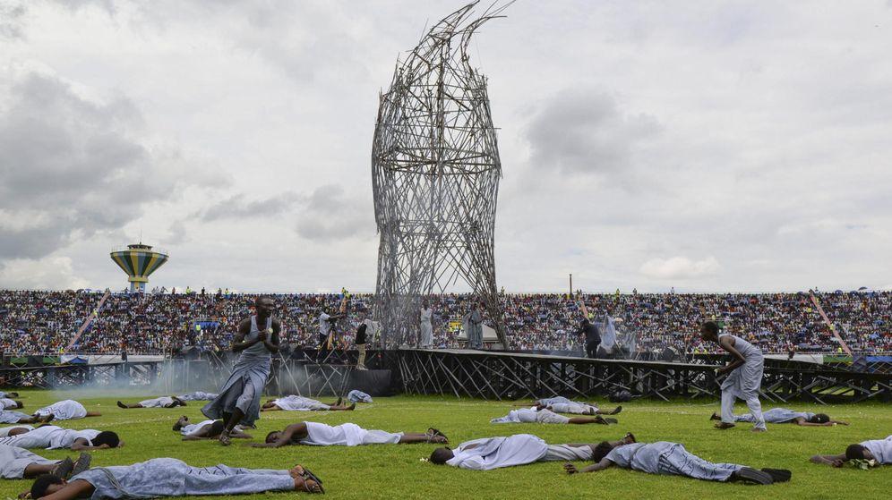 Foto: Vigésimo aniversario del genocidio en Ruanda. (EFE)