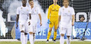 Post de El despelote en el Real Madrid con el 7 del Atlético