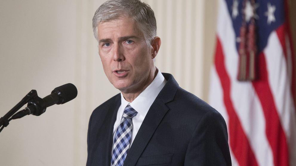 El elegido por Trump para el Supremo ve decepcionantes sus críticas a los jueces