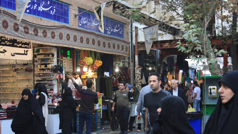 Bazar de Teherán.
