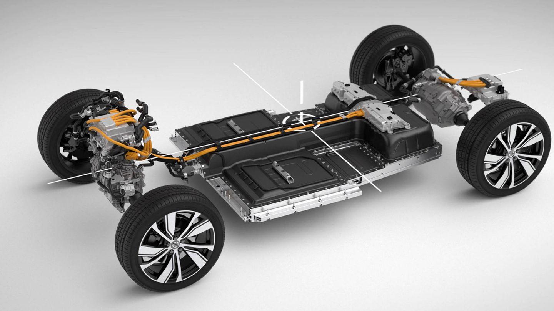 Esta es la plataforma CMA adaptada a una versión 100% eléctrica.