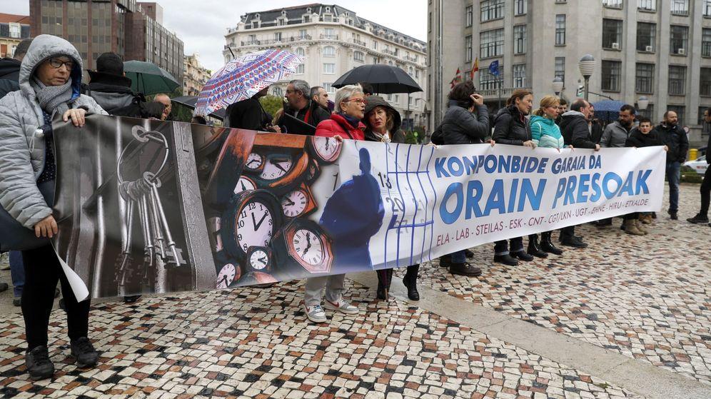 Foto: Movilización por los derechos de los presos. (EFE)