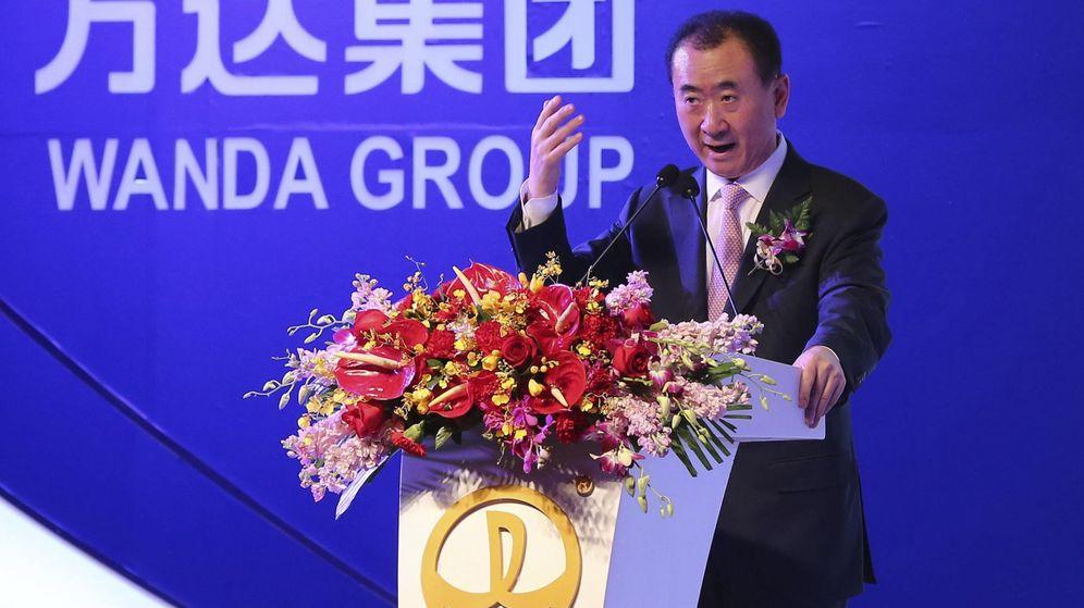 Foto: El presidente del Grupo Wanda, Wang Jianlin (EFE)