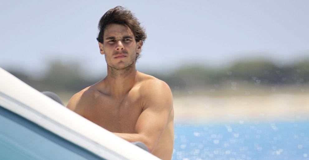 Foto: Rafa Nadal navegando en Ibiza (Archivo)