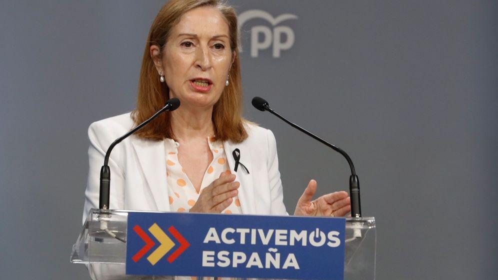 Foto: La vicepresidenta del Congreso, Ana Pastor. (EFE)