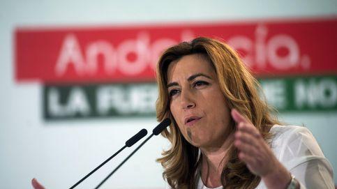 Susana Díaz ejerce como líder del PSOE y Rajoy exigirá apoyo a los Presupuestos