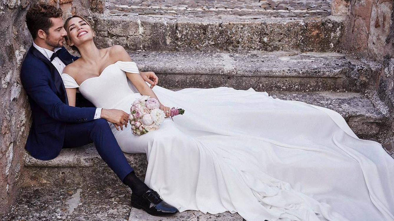 La boda sorpresa de David Bisbal y Rosanna Zanetti
