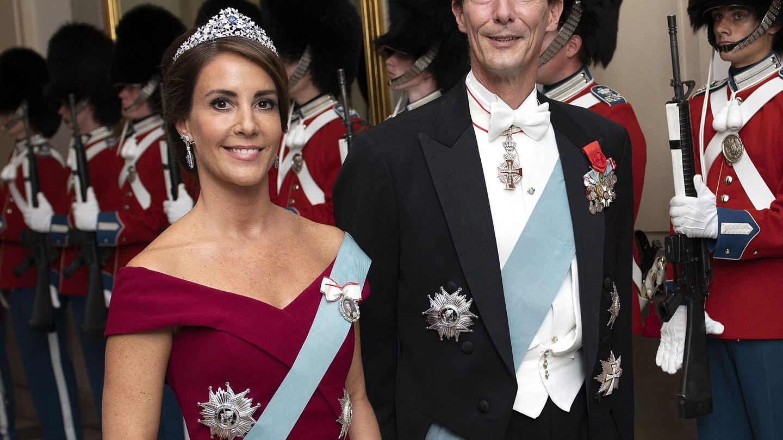El príncipe Joaquín de Dinamarca y la princesa Marie. (EFE)