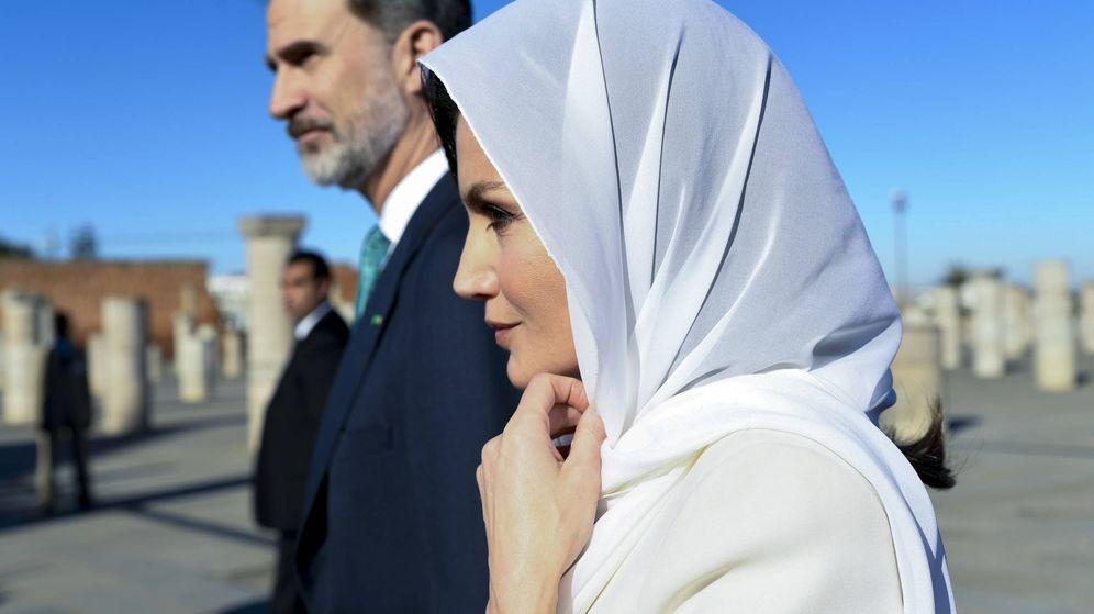 Foto: Los Reyes, en su visita de Estado a Marruecos el pasado febrero. (Getty)