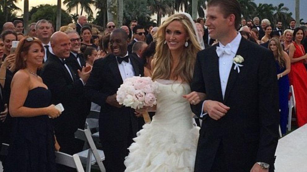 Donald Trump casa a su hijo Eric en una boda de 'perfil bajo'