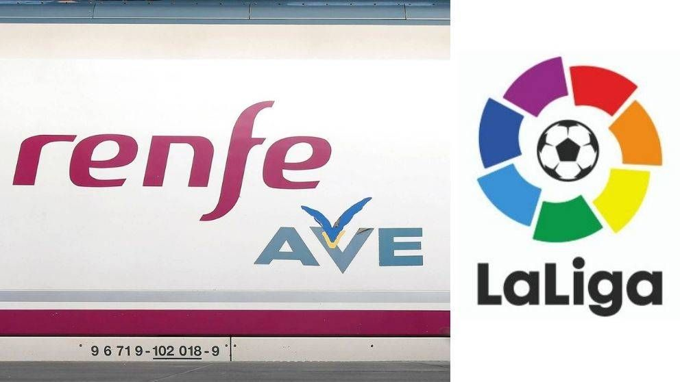 Todo el fútbol en el AVE: Renfe ofrecerá en sus trenes todos los partidos de la Liga
