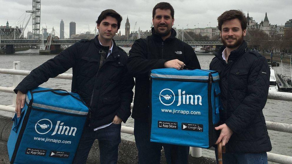 Jinn, la 'startup' de tres españoles que se estrelló queriendo ser Deliveroo